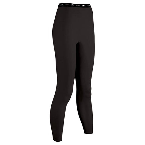 Coldpruf Base Layer Performance Women's Pants Black Large