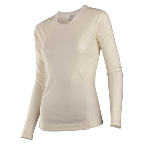 Coldpruf Base Layer Classic Merino Women's Crew Top Al Medium S