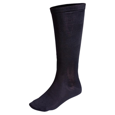 Terramar Silk Nylon Sock Liner Medium Black