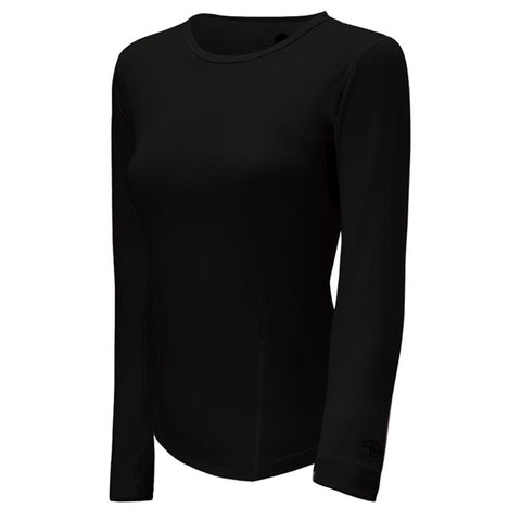 Duofold Vtherm Midweight Women's Long Sleeve Black Small