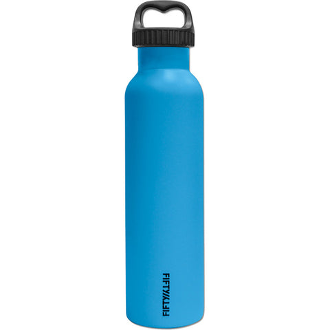 Fifty/Fifty 25 oz Vacuum Insulated Water Bottle Blue