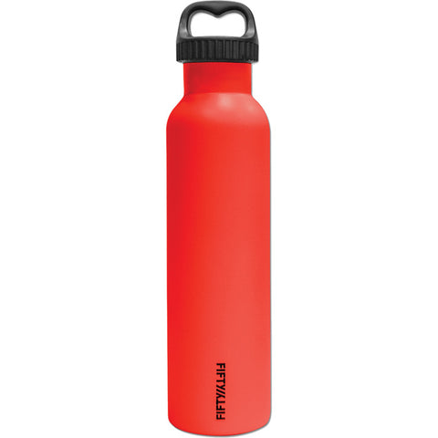 Fifty/Fifty 25 oz Vacuum Insulated Btl-Red