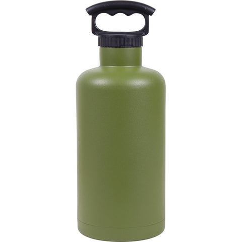 Fifty/Fifty Tank Growler 64 oz Olive