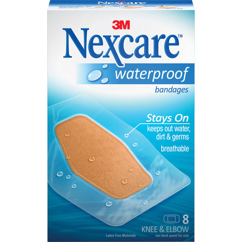 3M Wp Bandages Knee/Elbow 8Ct.