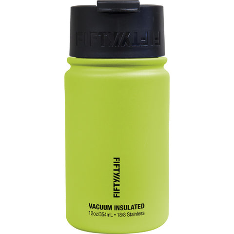 Fifty/Fifty 12 oz Vacuum Insulated Flip Top Water Bottle Lime