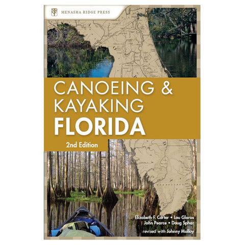 Menasha Ridge Press Canoeing & Kayaking Florida