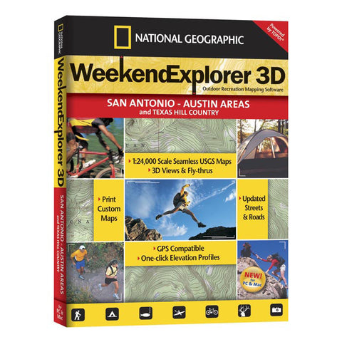 National Geographic Ngwe 3D San Antonio Austin
