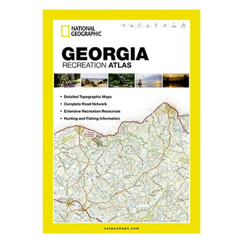 National Geographic Georgia State Recreation Atlas