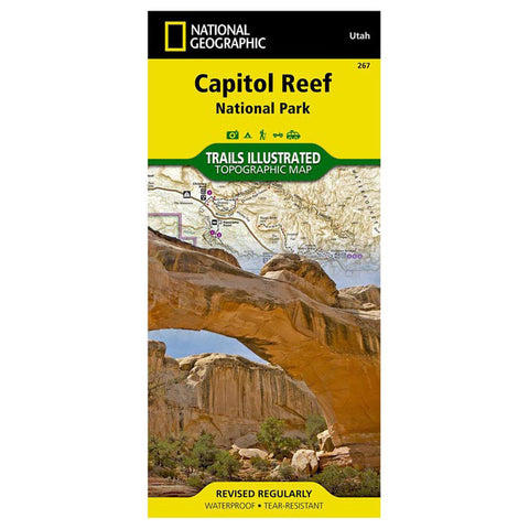 National Geographic Capitol Reef National Park Trails Map #267