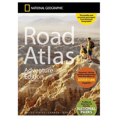National Geographic North American Road Atlas Adventure Edition