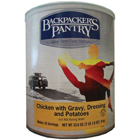 Backpackers Pantry Chicken W/Gravy & Potatoes Can