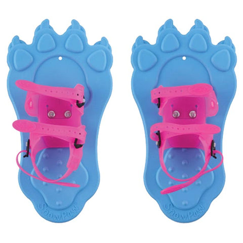 Redfeather Snow Paws Blue/Pink Snow Shoes