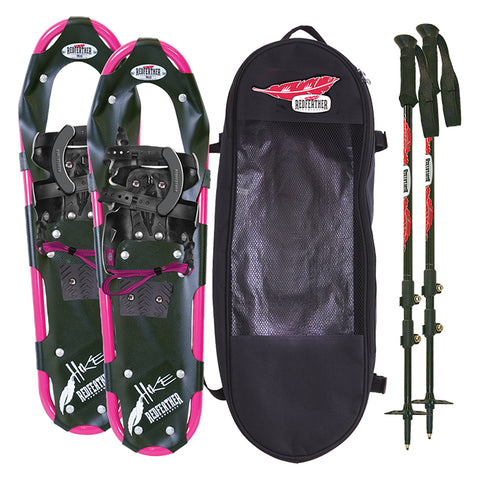 "Redfeather Women's Hike Series 7.5"" X 25"" Snow Shoe Hiking Kit"