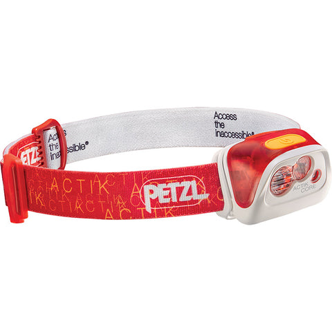 Petzl Actik Core 350 Lumens Red