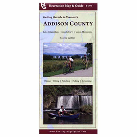 Triad Printing Addison County Rec Map