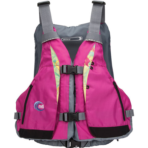 MTI Adventurewear Women's Moxie Berry/Caribe Life Jacket X-Small/Small