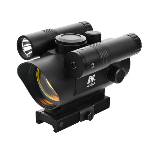 NC Star Vism Red Dot Sight/Grn Lasr-Led FL/QR Mnt VDFLGQ142