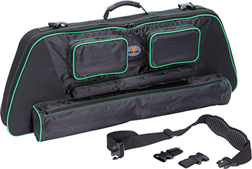 ".30-06 Outdoors .30-06 Outdoors 41"" Slinger Bow Case System w/Green Accent SBC-GR"