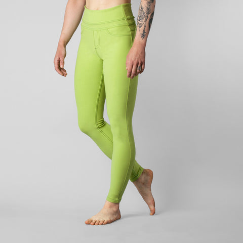 So iLL Active Jeans Women's Rock Climbing/Yoga Pants Green