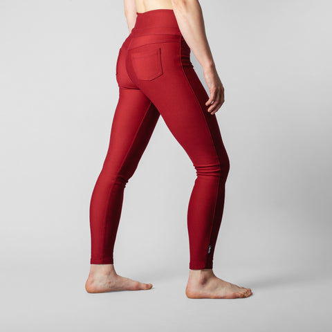 So iLL Active Jeans Women's Rock Climbing/Yoga Pants Red
