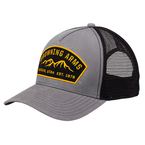 Browning Cap Ranger Logo Gray/Black Adjustable 308877691