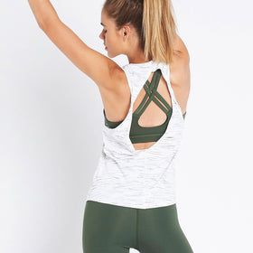 Double Twist Back Tank