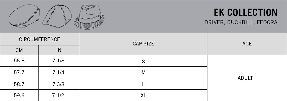 New Era Size Guide - Ek Collection