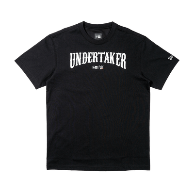 Short Sleeve Tee Wwe Undertaker Black - New Era Malaysia