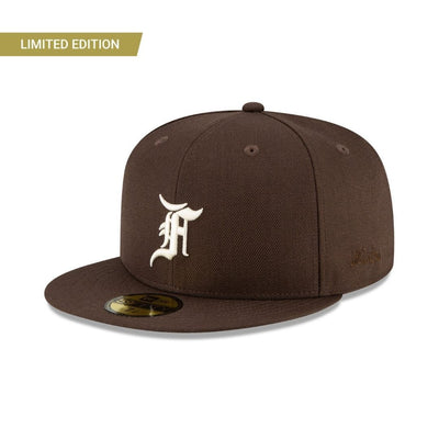 59FIFTY Fear Of God Dark Brown Fitted -  Malaysia