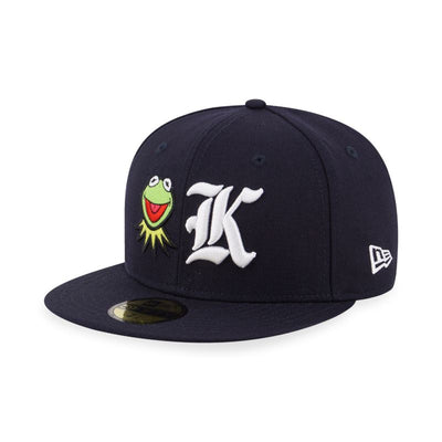 59FIFTY Kermit The Frog Muppet Fitted Navy - New Era Malaysia