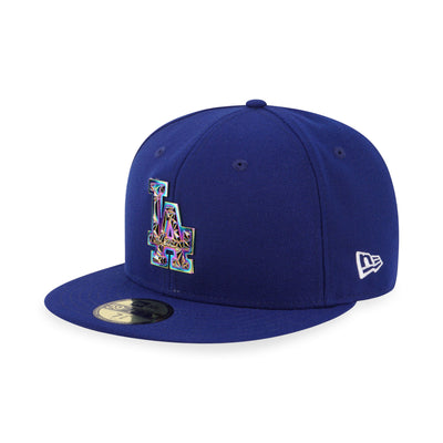 59FIFTY Los Angeles Dodgers Metal Badge Royal Blue - New Era Malaysia