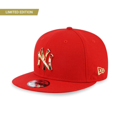 9FIFTY New York Yankees Metal Badge 'CNY' Snapback Red -  Malaysia
