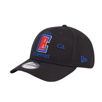 9FORTY Americana Cross NBA LA Clippers Adjustable Black -  Malaysia