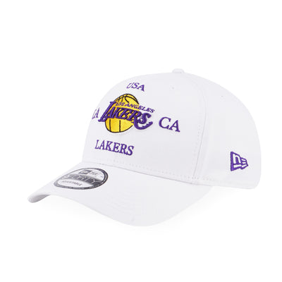 9FORTY Americana Cross NBA LA Lakers Adjustable White -  Malaysia