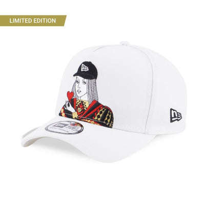 9FORTY King And Queen Adjustable White - New Era Malaysia