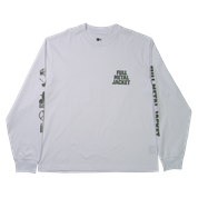 Long Sleeve Full Metal Jacket Unisex White -  Malaysia