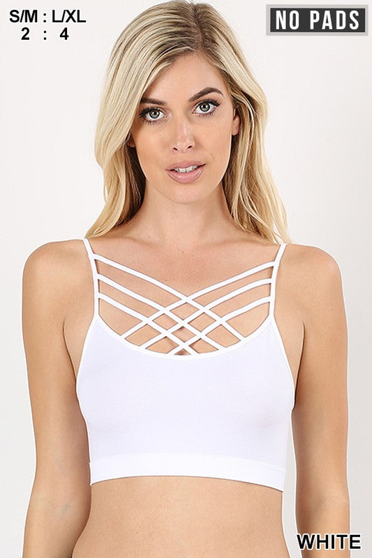 TRIPLE CRISS CROSS BRALETTE - winsome-boutique