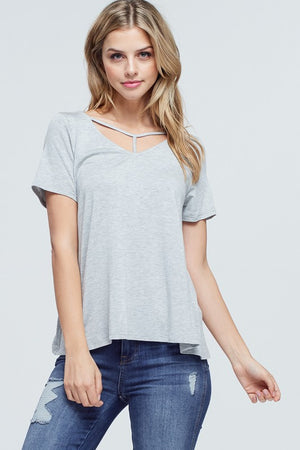 Rosie Crossed Spaghetti Strap Top - winsome-boutique