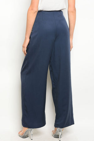 Navy Pants - winsome-boutique