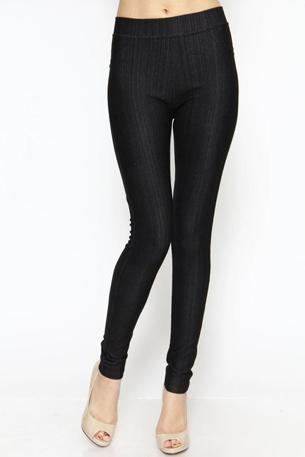 Jeggings-black - winsome-boutique