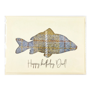 Carp - Happy Birthday Card