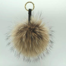 Load image into Gallery viewer, Rabbit Fur Keyring