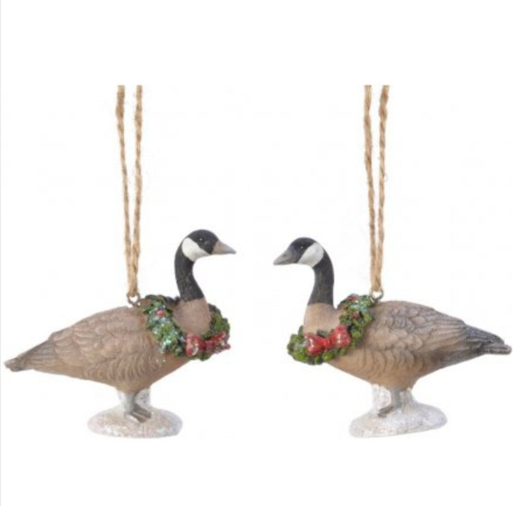 Festive Geese Hanging Decoration
