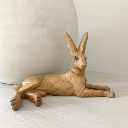 Lounging Hare Ornament