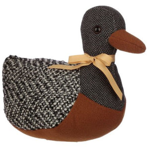 Fabric Duck Doorstop