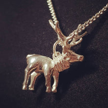 Load image into Gallery viewer, Stag Sterling Silver Necklace