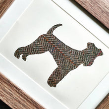 Load image into Gallery viewer, Airedale Terrier in Harris Tweed