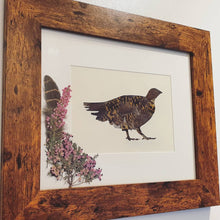 "Load image into Gallery viewer, Grouse & Heather - ""Feather and Foliage"""
