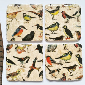British Birds Coasters