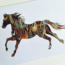 Load image into Gallery viewer, Cantering Horse Silhouette
